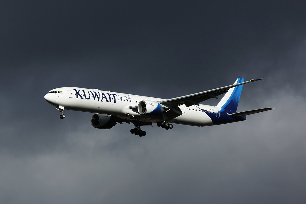 9K-AOF - B77W - Kuwait Airways