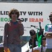 Austin Heap and Cyrus Farivar talking about Haystack at San Francisco United for Iran Global Day of Action July 25, 2009 by Steve Rhodes