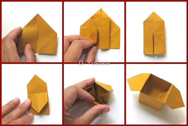 Оригами коробочка из - Оригами из бумаги - схемы, сборка, модульные оригами