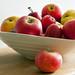 Fruit Bowl - Apples & Plums