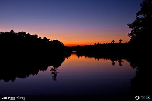 sunset sunsetoverwater pickerelpointontario bigchutesunset