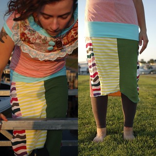 Handmade Patchwork Skirts $10