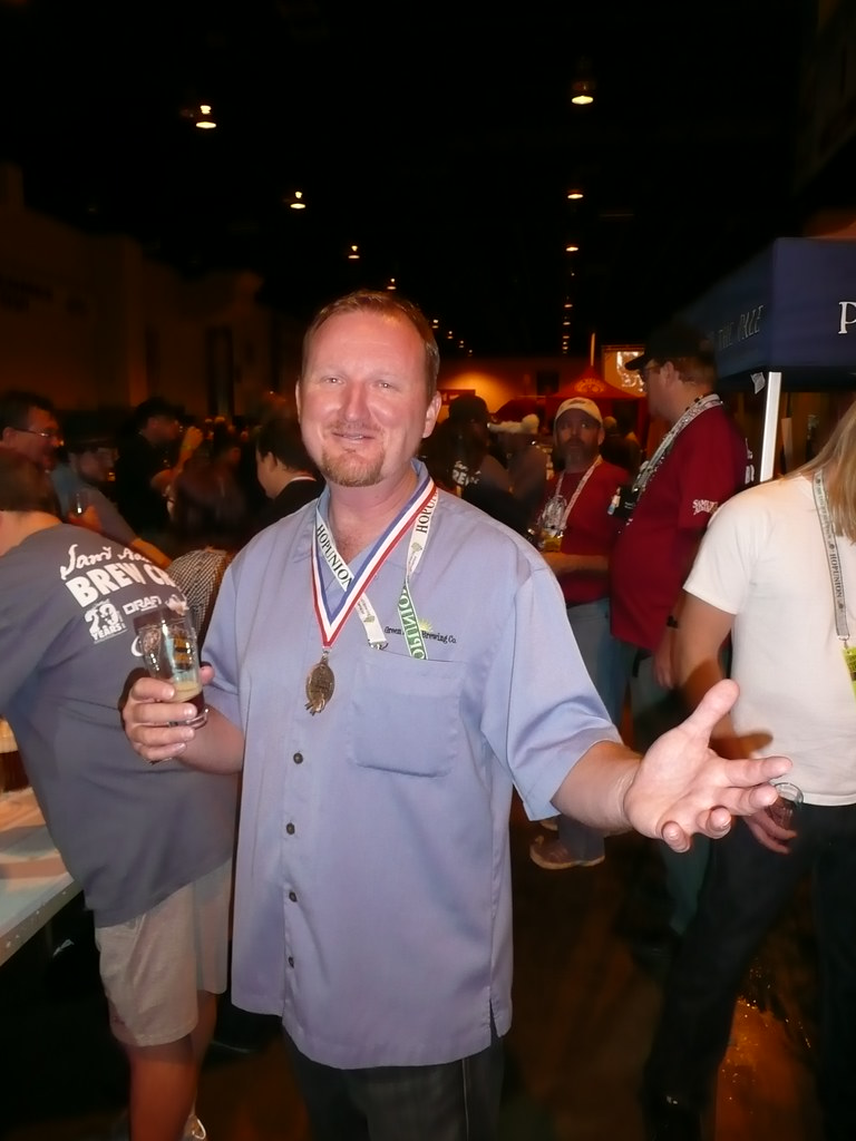 Chuck Silva, from Green Flash Brewing