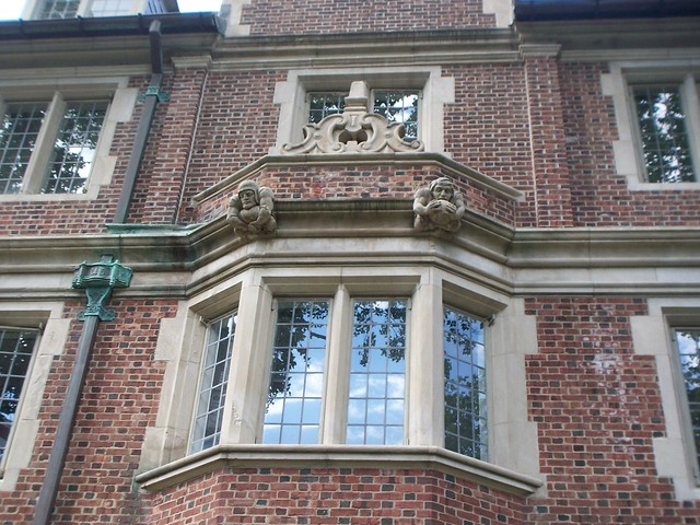 grotesques on Penn's dorms