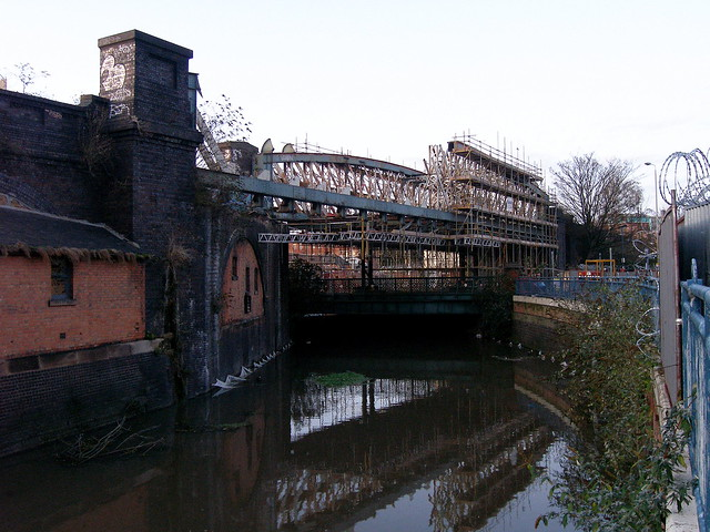 Bowstring The Bowstring Brigde Leicester Being Demolish Flickr Photo Sharing