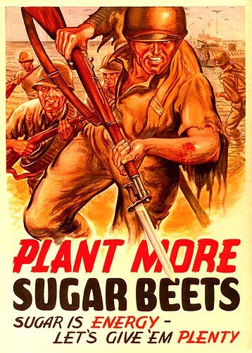 WW2  -  more sugar beets ?