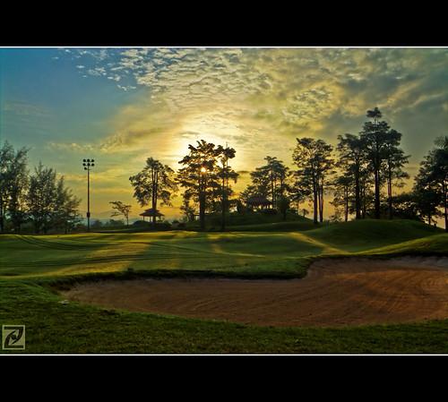 club sunrise golf dawn malaysia fujifilm hdr kajang selangor picturenaut saujanaimpian s100fs