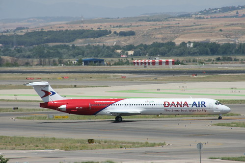 Dana Air MD-83 5N-JAI