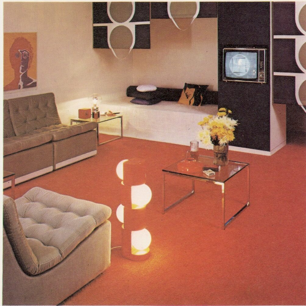 1970s living room a photo on flickriver for Lounge room