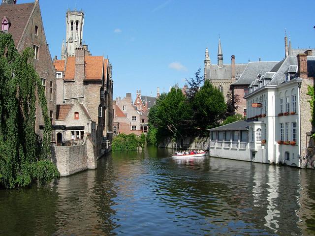 Quai du Rosaire à Bruges