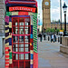 Knit the City - Phonebox Cosy