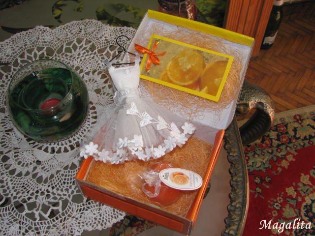Orange sachet - saszetka pomaranczowa