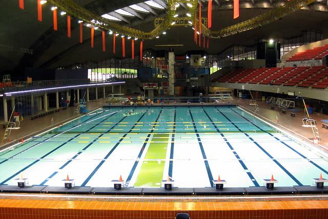 Montr al hochelaga maisonneuve la piscine olympique de montr al flickr photo sharing - La piscine olympique montpellier ...