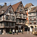Half timbered houses in Colmar