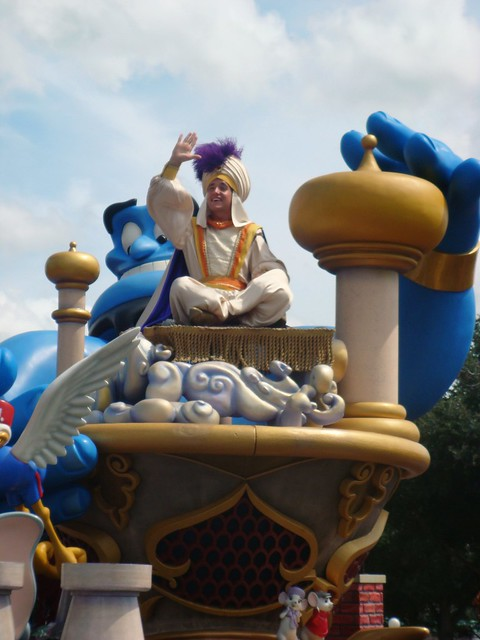 Aladdin as Prince Ali: Celebrate a Dream Come True!