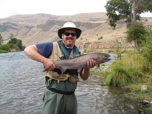 Mckenzie willamette and deschutes summer fishing report for Deschutes river fishing report