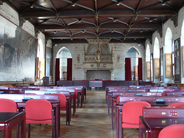 Interieur interior stadhuis town hall flickr for Interieur leuven
