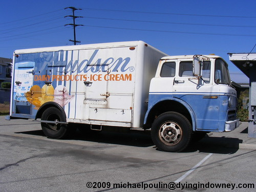 old Knudsen delivery truck ( City of Downey California )