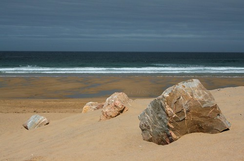 Holywell Beach by Stocker Images