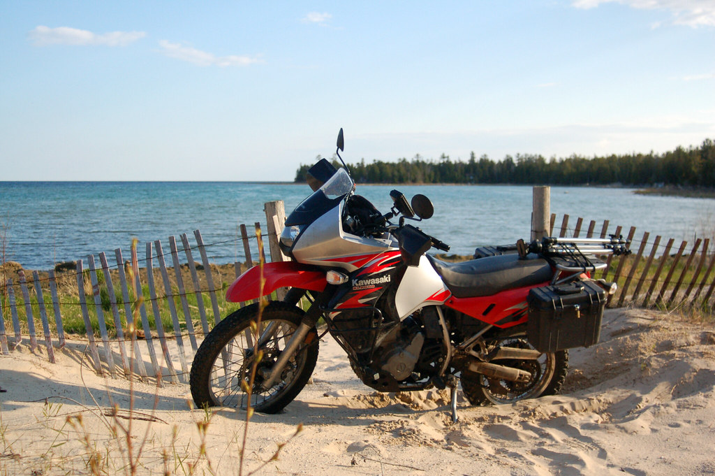 KLR On The Beach