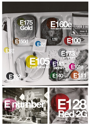 E number (the pantone food)
