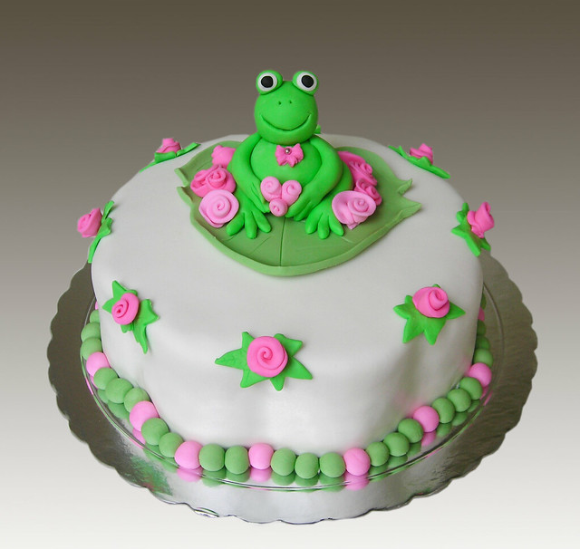 frog cakes cake ideas and designs