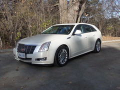 sedan(0.0), automobile(1.0), executive car(1.0), cadillac sts-v(1.0), cadillac(1.0), family car(1.0), wheel(1.0), vehicle(1.0), mid-size car(1.0), cadillac cts(1.0), land vehicle(1.0), luxury vehicle(1.0),