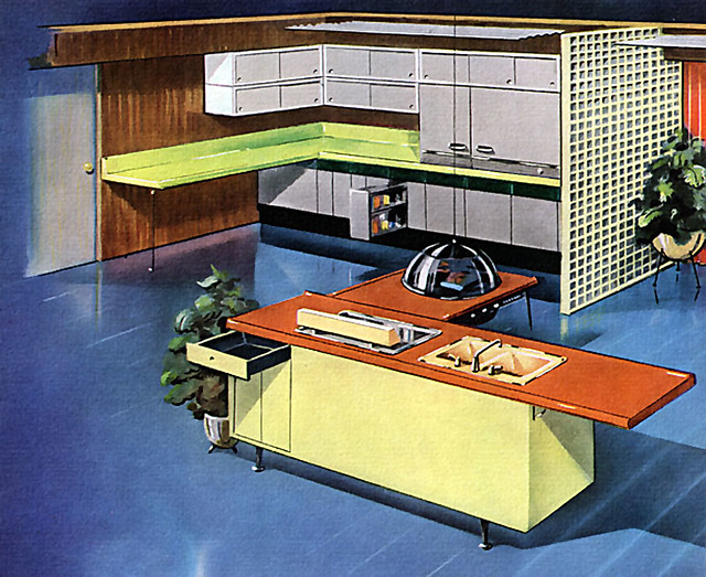 Fifties Kitchen Decor