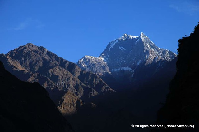 Nilgiri South @ Sunrise - 6,839 metres - Annapurna Curcuit Trek - Nepal