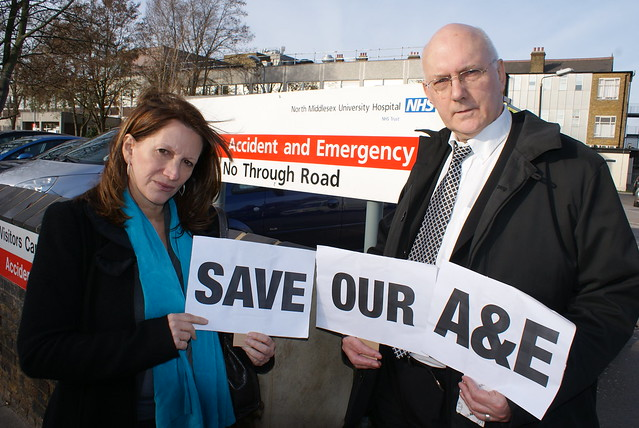 Save our North Middlesex A&E!