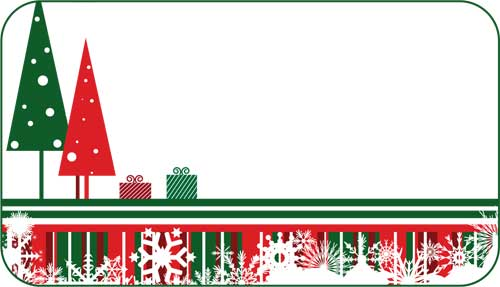 christmas label templates