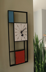 60's Sunbeam 'Mondrian' Clock