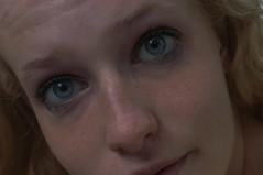 nose, freckle, face, portrait photography, skin, lip, girl, head, eyelash, cheek, close-up, blond, mouth, eyebrow, forehead, beauty, portrait, eye, organ,