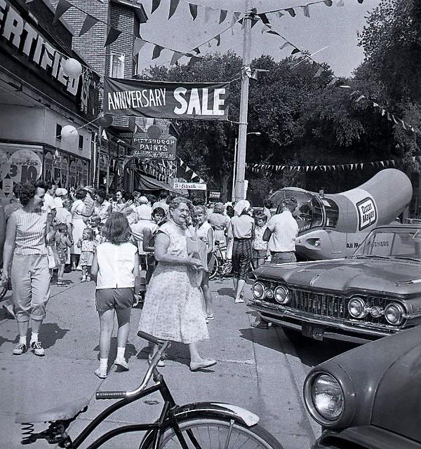 Sidewalk Sale Brookfield Il Usa Early 1950 S