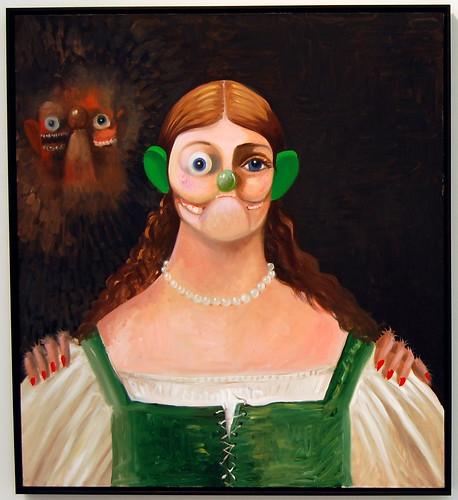 George Condo, The Apparition, 2009