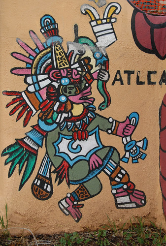 Flickriver ilhuicamina 39 s photos tagged with aztec for Aztec mural tattoos