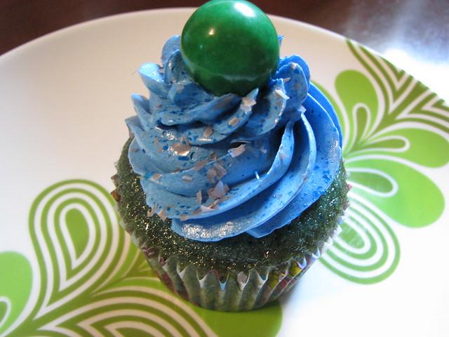 Blue Bubble Cake