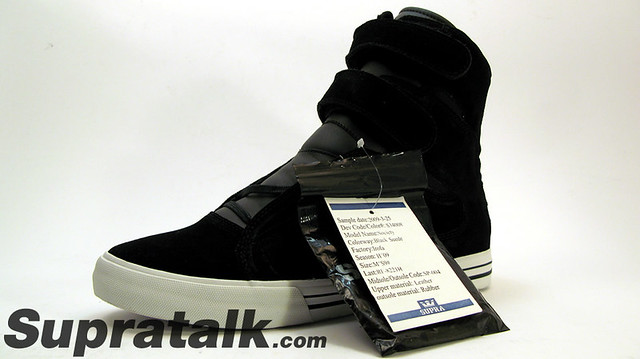Supra Shoes Black And White