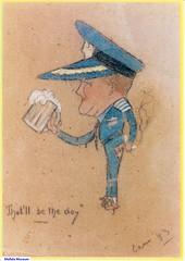 Garrett WR caricature