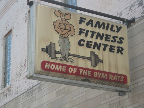 Family Fitness Center sign