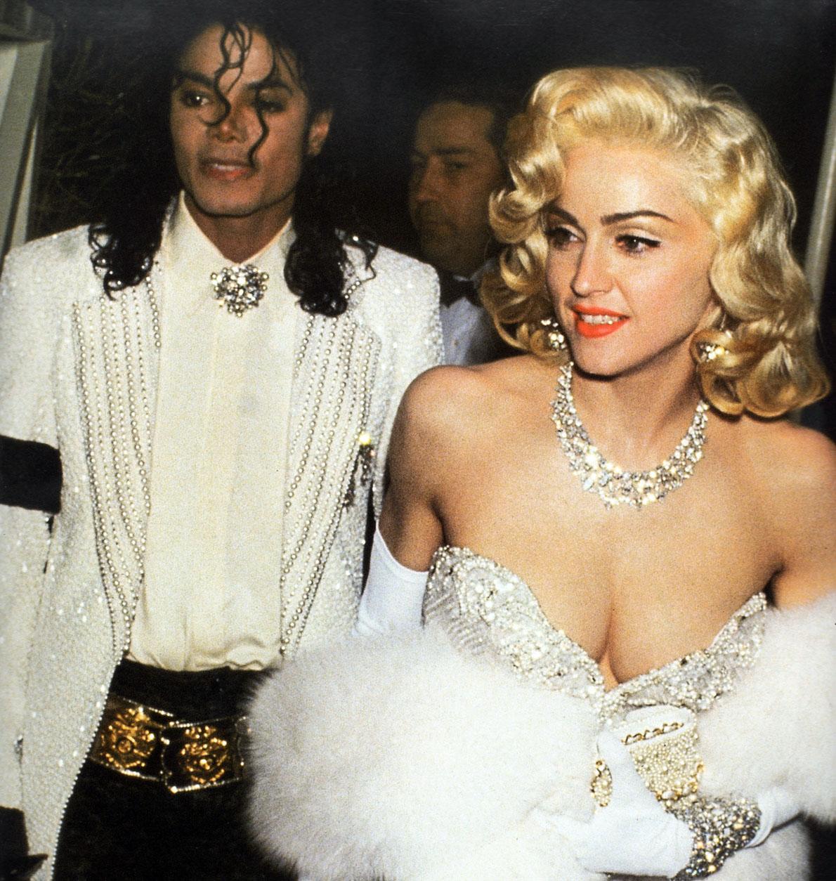 Michael Jackson and Madonna at the Oscars, 1990 - a photo ...