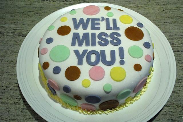 Farewell Cake | Orange Poppyseed Cake covered with Swiss ...