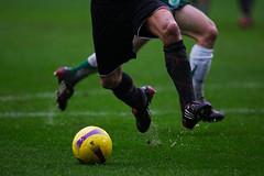 goalkeeper(0.0), kick(0.0), football player(1.0), ball(1.0), soccer kick(1.0), sports(1.0), tackle(1.0), player(1.0), football(1.0), ball game(1.0), ball(1.0),