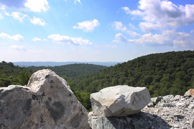 View from Merrill Creek Dam