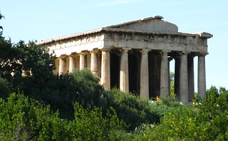 Image of Ancient Athenian Agora. temple ruins hellas athens hephaestus greece 100views 200views acropolis 50views openstreetmap theseion ελλάδα templeofhephaestus ακρόπολη αθήνα θησείο αρχαίααγορά athenianagora ναόσ ηφαίστου address:city=athens ναόστουηφαίστου address:country=greece osm:node=353861002 osm:way=27917370