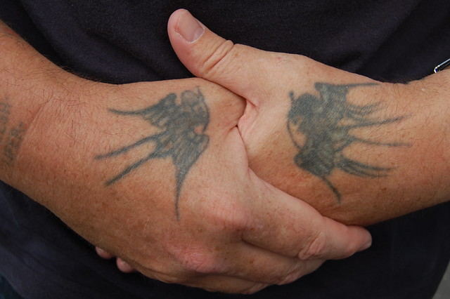 Photo for Swallow hand tattoo