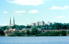 Peoria from Illinois River