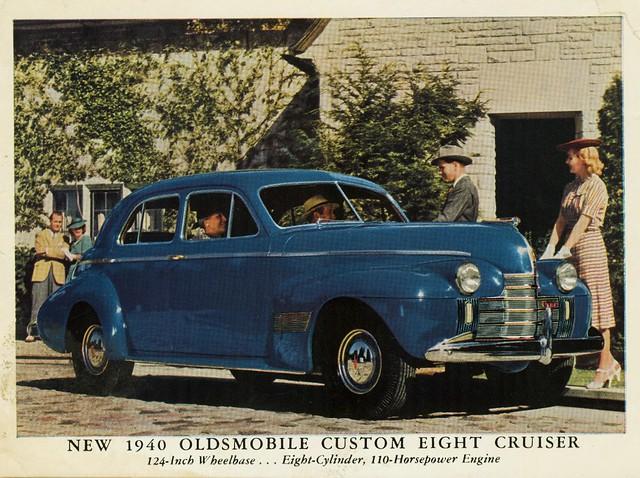 1940 oldsmobile custom eight cruiser 4 door touring sedan for 1940 oldsmobile 4 door sedan