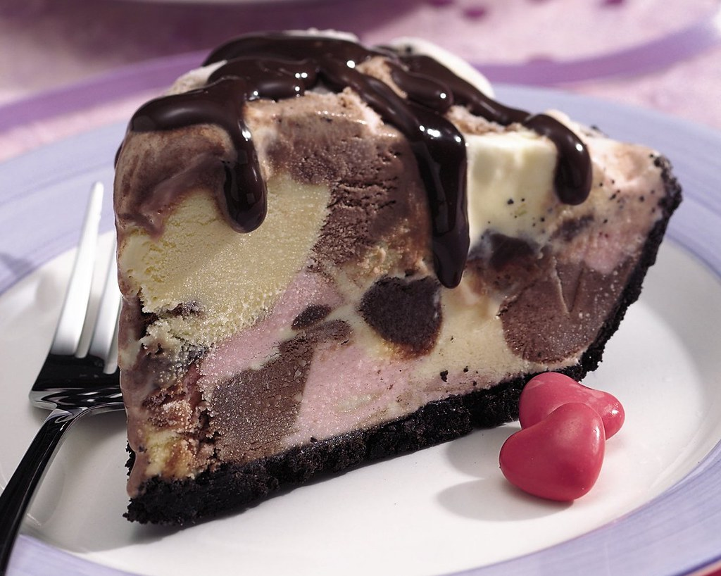 Neapolitan Ice Cream Pie | Flickr - Photo Sharing!