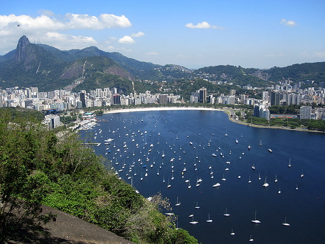 A View of Baía da Guanabara